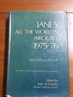 Jane's All the World's Aircraft 1975-76 Edited by John W.R. Taylor