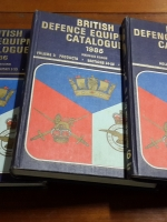 BRITISH DEFENCE EQUIPMENT CATALOGUE 1986 SIXTEENTH EDITION : VOLUME 1-2-3