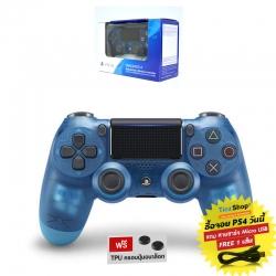 DUALSHOCK®4 Wireless Controller :: Blue Crystal CUH-ZCT2G 19 (สีน้ำเงินใส)