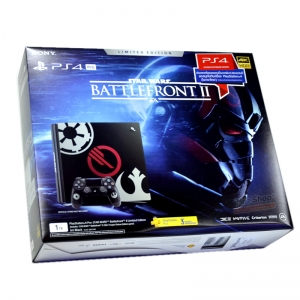 PlayStation®4 Pro Star Wars™ Battlefront™ II Limited Edition ประกันศูนย์ไทย 2 ปี 3 เดือน ราคา @ 17490.- ส่งฟรี