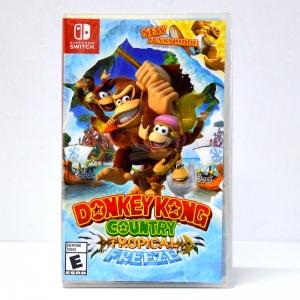 Switch™ Donkey Kong Country: Tropical Freeze Zone US, English ราคา 1790.- // ส่งฟรี EMS, Kerry