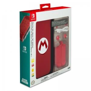 """ชุดอุปกรณ์เสริม PDP™ Starter Kit Mario """"M"""" ของแท้ สำหรับ Nintendo Switch ราคา 1250.-"""
