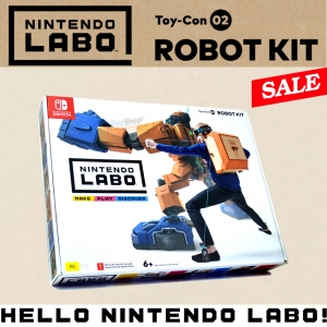 LABO ชุดหุ่นยนต์ (กล่องเดี่ยว) ++ Nintendo LABO Toy-Con 02 ROBOT KIT ล๊อต 3 !! update 24-05-2018