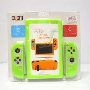 BUBM™ Soft Silicone Case Anti-slip For Switch and Joy-con Color:Green ราคา 490.-