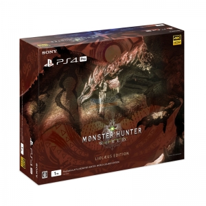 PS4 Pro CUH-7100 Series 1TB HDD [Monster Hunter: World Liolaeus Edition] Zone JP