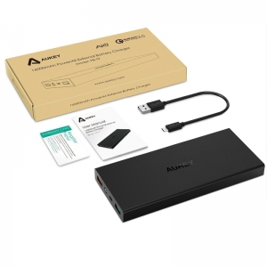 Aukey Powerbank PB-T9 ชาร์จเร็ว 16000mAh QuickCharge 3.0