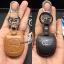 New ซองหนังแท้ ใส่กุญแจรีโมทรถยนต์ Toyota New Vios,Yaris รุ่นโลโก้เงิน 2 ปุ่ม thumbnail 6