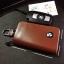 กระเป๋าซองหนังแท้ ใส่กุญแจรีโมทรถยนต์ โลโก้ BMW รุ่น ซิบรอบ thumbnail 5