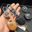 New ซองหนังแท้ ใส่กุญแจรีโมทรถยนต์ Toyota New Vios,Yaris รุ่นโลโก้เงิน 2 ปุ่ม thumbnail 4