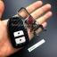 กรอบ-เคส ใส่กุญแจรีโมทรถยนต์ Honda Smart Key 2,3,4 ปุ่ม ลายเคฟล่า thumbnail 11