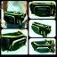 กระเป๋าคาดเอว ไทชิ สีเขียว thumbnail 1