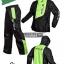 ชุดขี่มอเตอร์ไซค์ เสื้อกันฝน ยี่ห้อ PLOE สีเขียว ไซน์ L สีดำ-เขียว thumbnail 1