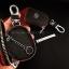 กระเป๋าซองหนัง ใส่กุญแจรีโมท รุ่นมินิซิบรอบโลโก้เหล็ก Toyota New Yaris 2014-17 แบบ Push Start 2 ปุ่ม thumbnail 9