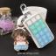 กระเป๋าซองหนังใส่ กุญแจรถยนต์ ประดับคริสตัล thumbnail 5