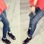 กางเกงผู้หญิง jeggings Leggings Tights สี ฟ้ายืน ฟรีไซร์ thumbnail 1