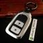 กรอบ-เคส ใส่กุญแจรีโมทรถยนต์ รุ่นกรอบเหล็ก HONDA HR-V,CR-V,BR-V,JAZZ Smart Key 2 ปุ่ม (ถอดดอกกุญแจออกได้) thumbnail 9