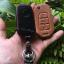 ซองหนังแท้ ใส่กุญแจรีโมทรถยนต์ MG 5 สี ดำ,น้ำตาล thumbnail 7