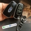 กรอบ-เคส ใส่กุญแจรีโมทรถยนต์ Foed Ranger All New Foucs รุ่น 3 ปุ่ม รุ่นเรืองแสง สีดำ/ชอบเงิน thumbnail 5
