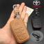 ซองหนังแท้ ใส่กุญแจรีโมทรถยนต์ Toyota Hilux Revo Smat Key 3 ปุ่ม thumbnail 2