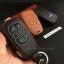ซองหนังแท้ ใส่กุญแจรีโมทรถยนต์ รุ่นโลโก้-ฟ้า Subaru XV,Forester,Brz,Outback 2015-18 Smart Key thumbnail 5