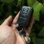 ซองหนังแท้ ใส่กุญแจรีโมทรถยนต์ รุ่นโลโก้เหล็ก Toyota Alphard Vellfire แบบใหม่ thumbnail 9