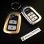 กรอบ-เคส ใส่กุญแจรีโมทรถยนต์ รุ่นกรอบเหล็ก HONDA HR-V,CR-V,BR-V,JAZZ Smart Key 2 ปุ่ม (ถอดดอกกุญแจออกได้) thumbnail 6