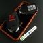 ปลอกซิลิโคน หุ้มกุญแจรีโมทรถยนต์ Honda Accord All New City 2014-15 Smart Key 3 ปุ่ม สี ดำ/แดง thumbnail 3