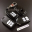 กรอบ-เคส ใส่กุญแจรีโมทรถยนต์ Honda Smart Key 2,3,4 ปุ่ม ลายเคฟล่า thumbnail 2