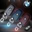 ซองหนังแท้ ใส่กุญแจรีโมท รุ่นด้ายสี พิมพ์โลโก้ BMW new series 3,5 รุ่น 3 ปุ่ม thumbnail 1