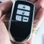 กรอบ-เคสยาง ใส่กุญแจรีโมทรถยนต์ All New Honda Accord,Civic 2016-17 รุ่น 3D Smart Key 4 ปุ่ม thumbnail 24