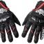 ถุงมือขี่มอเตอร์ไซค์ ยี่ห้อ ACOOLBAR สี ดำ-แดง ไซน์ L thumbnail 4