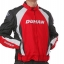 ชุดขี่มอเตอร์ไซค์ เสื้อแจ็คเก็ต เสื้อการ์ดอ่อน DUHAN D-089 ไซส์ L สีแดง thumbnail 1