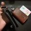 กระเป๋าซองหนังแท้ ใส่กุญแจรีโมทรถยนต์ โลโก้ Mercedes Benz รุ่น ซิบรอบ thumbnail 6