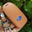 ซองหนังแท้ ใส่กุญแจรีโมทรถยนต์ รุ่นโลโก้-ฟ้า Subaru XV,Forester,Brz,Outback 2015-18 Smart Key thumbnail 6