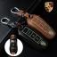 ซองหนังแท้ ใส่กุญแจรีโมทรถยนต์ รุ่นเรืองแสง Porsche แบบใหม่ thumbnail 1